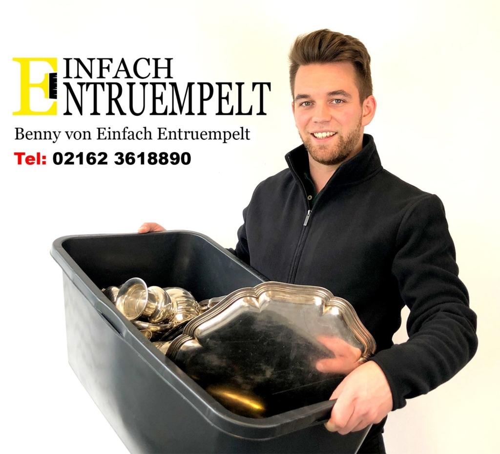 Benjamin Matthieu von Einfach Entruempelt - Entrümpelung Viersen