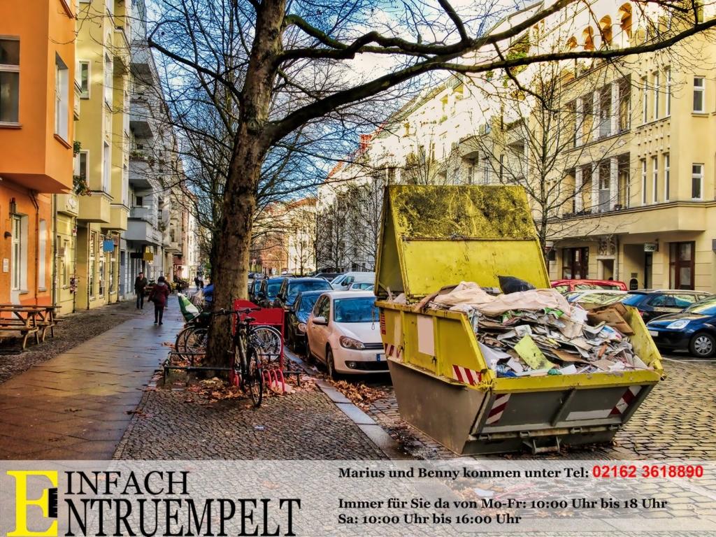 Entrümpelung Mönchengladbach mit Container