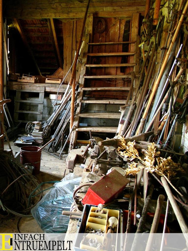 Messie-Wohnung Keller entruemeplung einfach entruempelt